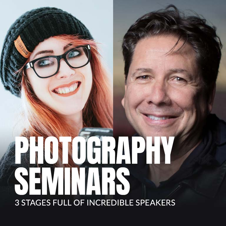 Edmonoton Photographic Trade Show Seminars